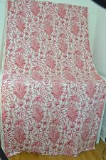 "STUNNING VINTAGE BOUSSAC RED PAISLEY PRINT - ""ALLADIN"" BY LAURENT STEVE LL84"