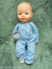 "HORSMAN baby doll ~VINTAGE 1974' 12"" molded hair drink & wet,  nm-115"