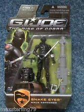 GI JOE Rise of Cobra Movie SNAKE EYES Pursuit Renegades 25th 30th Retaliation