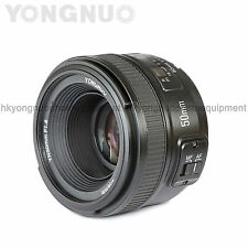 Yongnuo 50mm F1.8 1:1.8 Standard Prime Lens Auto Manual Focus AF MF for Nikon