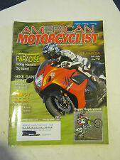 January 2008 American Motorcyclist Magazine  (BD-45)