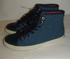 Tretorn Featuring Florence Broadhurst canvas ankle casual shoe sneaker sz 5.5