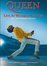 Queen: Live at Wembley Stadium (Like new)