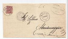 H543-PALERMO-ALIA-MODULO CON ANNULLO 1900