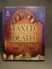 TAXED TO DEATH JIGSAW MYSTERY THRILLER PUZZLE GAME