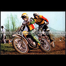 #CP48 Harry EVERTS/Hans MAISCH Moto-Cross Carte Postale Moto Motorcycle Postcard