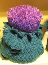 TeaCosyFolk Scottish Thistle Tea Cosy Knitting Pattern - Knit your own!