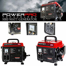 Super Quiet Gas Powered Portable Generator 1000w Lightweight Camping RV Home NEW