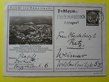 Alte Ansichtskarte Besucht den Schwarzwald von 1936 gelaufen
