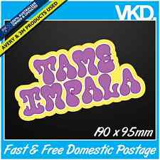 Tame Impala Sticker/ Decal - Band Music Currents Rock Eventually Vinyl Car 4x4