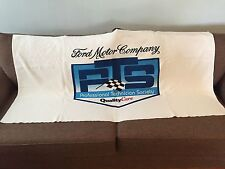 "VINTAGE FORD MOTOR COMPANY PTS BEACH TOWEL 65"" X 32"" UNUSED!!!"