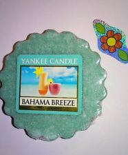 YANKEE CANDLE BAHAMA BREEZE TART COMBINE SHIPPING  HUNDREDS LISTED