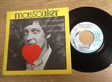 45 tours Jean-Claude Massoulier La dame du courrier du coeur 1972 quasi NEUF