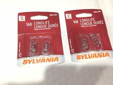 4 pc SYLVANIA  168 MINIATURE  BULB LAMP