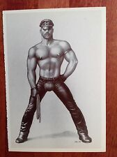 Tom of Finland Postcard by Taschen 1994 Leatherman