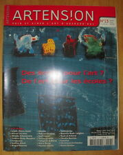 REVUE ARTENSION N°13 SEPT OCT 2003 COLE MORGAN ANDRE PIERRE ARNAL ALFRED COURMES