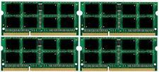 16GB (4x4GB) Memory PC3L-12800 SODIMM For Laptop DDR3L-1600 RAM