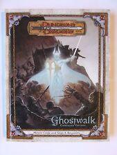 Ghostwalk, Dungeons and Dragon D&D, 3e, d20, WOTC, DMG