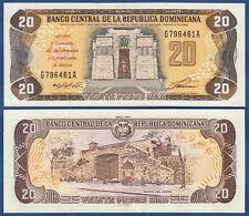 DOMINIKANISCHE / DOMINICAN Rep. 20 Pesos 1992 UNC P.139