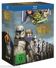 Star Wars: The Clone Wars - Komplettbox Staffel 1-5 [Blu-ray] * NEU & OVP *