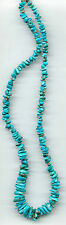 "SLEEPING BEAUTY TURQUOISE DANGLE/CHIP BEADS - 250A - 18"" Strand"