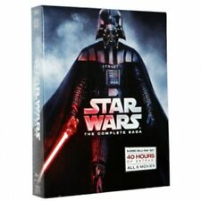 NEW Star Wars: The Complete Saga (Blu-ray Disc, 9-Disc Set, Boxed Set)