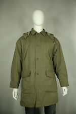 Giorgio Armani le collezioni jacket M to L parka coat hooded military green