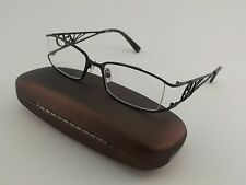 Dereon Rx Eyeglasses DOC307 Black Metal Rectangular Full Rim 50[]18-140