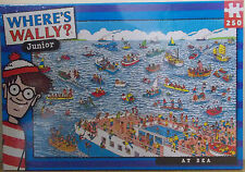 Where's Wally ~ At Sea ~ 250 Piece Jigsaw Puzzle
