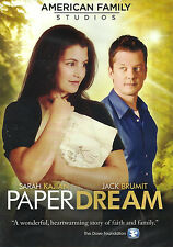 PAPER DREAM - Stars Sarah Kajlan, Jack Brumit, 2012 - DVD  **BRAND NEW**