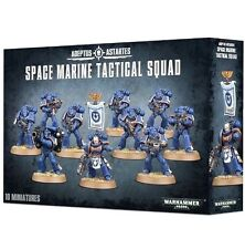 Brand-NEW: 10-Man Space Marines TACTICAL SQUAD! -Games Workshop GW Warhammer 40K