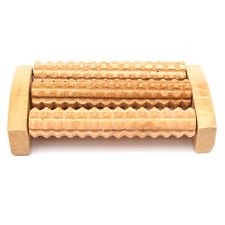 Wooden Roller Massager Tool Reflexology Hand Foot Back Body Therapy Pain Relief