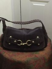 COACH LIMITED EDITION ERGO VINTAGE LEATHER BELTED HOBO PURSE 11226 H:6 L:13 RARE