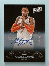 CARMELO ANTHONY 2014 PANINI BLACK FRIDAY SIGNATURE AUTOGRAPH AUTO SP
