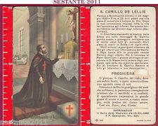2538 SANTINO HOLY CARD S. SAN CAMILLO DE LELLIS NB 1021