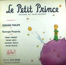 """10""""-LP ANTOINE DE SAINT-EXUPERY - le petit prince, Gerard Philipe, Poujouly u.a."""
