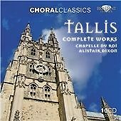 TALLIS; COMPLETE WORKS 10CD NEW & SEALED