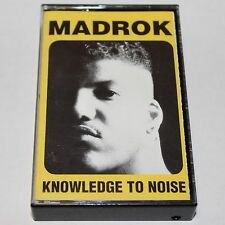 Madrok Knowledge To Noise Cassette Tape Hip Hop Random Rap '92 Ichiban