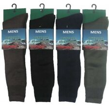 3 x PAIRS MENS WELLY/ WELLINGTON BOOT SOCKS SIZE 6-11 (RONS)
