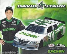 """2015 DAVID STARR """"ZACHERY TOYOTA CAMRY"""" #44 NASCAR XFINITY SERIES POSTCARD"""