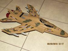 "2004 TOY CENTURY INDUSTRIES AIR FORCE JET FOR GI JOE? 3.75""  - LIGHTS, SOUNDS"