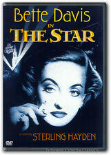 The Star DVD New Bette Davis, Sterling Hayden, Natalie Wood, Warner Anderson