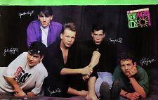 New Kids On The Block 1990 McDonalds Magic Summer Original Promo Poster NKOTB