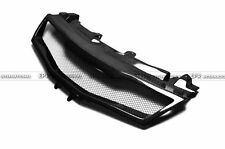 Front Grill Grille Mesh Cover For Honda 07-11 Civic FN2 Type R Carbon Fiber