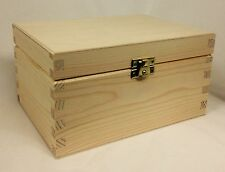 Natural pine wood small memory box DD305 gift present suggestion idea