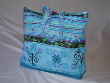 NEW Fairtrade Large Cotton Indian Antique Tribal Design Shoulder Bag