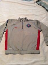 Boys XL Nike Paris Saint Germain 1/2 zip Sweatshirt