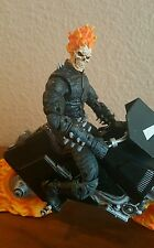 "2003 MARVEL 7"" GHOST RIDER Motorcycle FLAME CYCLE Legendary KETCH DAN"