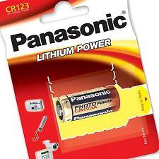10 x PANASONIC Ultra CR123 3V Lithium Photo Battery DL123A EL123A 5 CR17345 123A