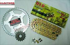 Suzuki SV650S 1999 to 2009 DID Gold X-Ring Chain & JT Sprockets Kit Set